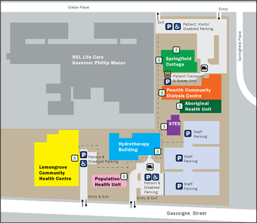 Lemongrove CHC Campus Map