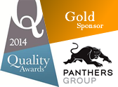 2014 Quality Awards Gold Sponsor Panthers Group