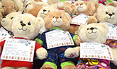 Junior doctors bear gifts for children's ward