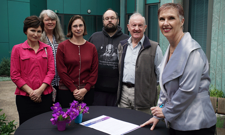 Mental Health Charter signing ceremony