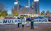 Meet Darug and Mulan! Year 2 student names tower cranes at Nepean Hospital