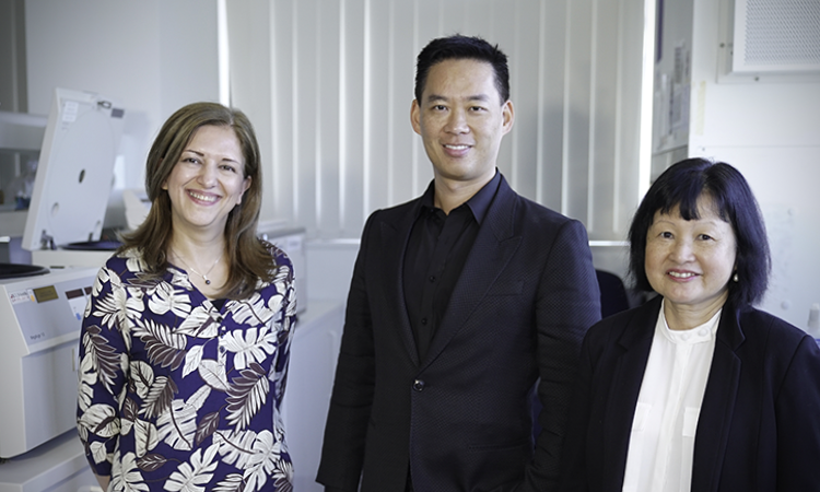 Maryam Shojaei, Benjamin Tang and Sally Teoh