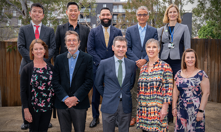 Research Day 2019 presenters and organisers