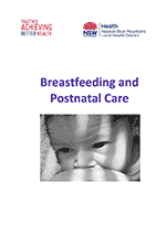 Breastfeeding and Postnatal Care Booklet